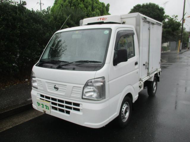 日産 NT100クリッパートラック DX冷凍冷蔵庫-5℃ 5マニュアル