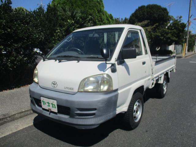 トヨタ ライトエーストラック シングルジャストローDX 4WD 5マニュアル 積載量750K