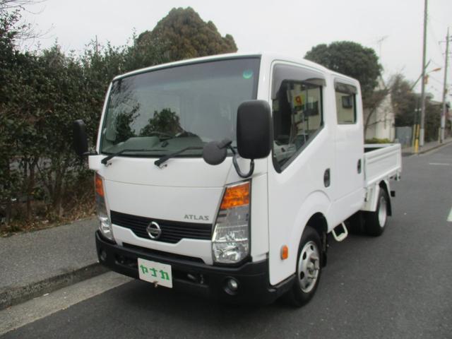 日産 アトラストラック WキャブフルスーパーローDX オートマ 6人乗り 積載量1250K