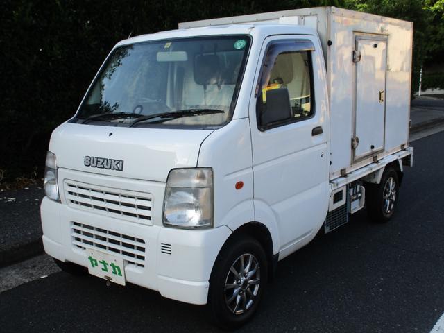 スズキ キャリイトラック KC 冷蔵冷凍車 2コン (低温・日章冷凍)
