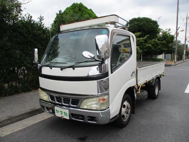 トヨタ ダイナトラック フルジャストロー 4.0デイゼール 10尺  2トン 電動ミラー