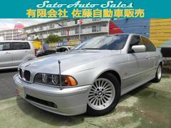 BMW525i純正ナビ本皮シ−トサンル−フ