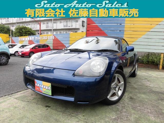 トヨタ Sエディション A/C P/S P/W D席エアバック ABS リモコンミラー 集中ドアロック 社外CD ミッドシップ カプリオレ
