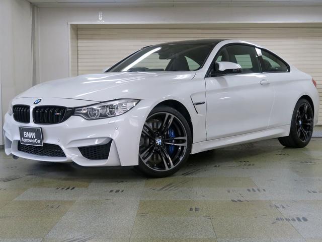 BMW M4クーペ  MDCT 黒革 BMW認定中古車1年保証