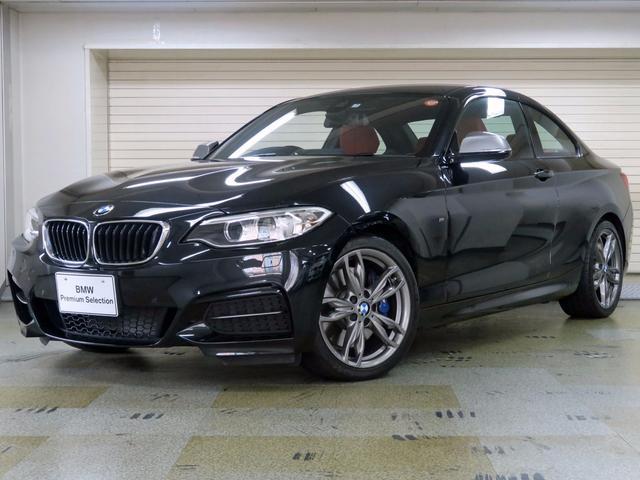 BMW M240iクーペ アドバンスパーキングサポートP 赤革