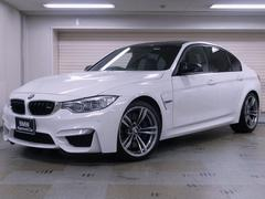 BMWM3 黒革 カーボントランクスポイラー、ディフューザー
