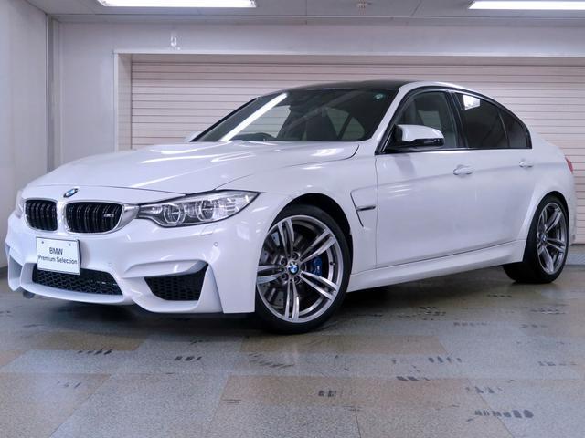 BMW M3セダン 後期型 ブラックレザー 認定中古車2年保証