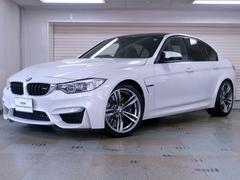BMWM3セダン 後期型 ブラックレザー 認定中古車2年保証