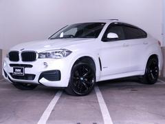 BMW X6xDrive 35i Mスポーツ 黒革 新品20インチ