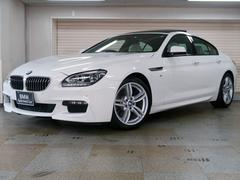 BMW640iグランクーペ Mスポーツ アイボリーホワイトレザー