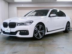BMW740i Mスポーツ コニャックレザー ディスプレイキー