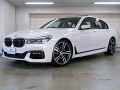 BMW740eアイパフォーマンス Mスポーツ コニャックレザー