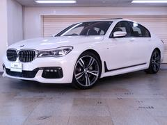 BMW740i Mスポーツ ブラックレザー リモートパーキング