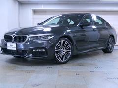 BMW523d Mスポーツ ハイラインP 黒革 パーキングアシスト