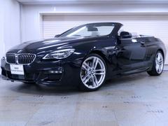 BMW640iカブリオレ Mスポーツ アイボリーホワイトレザー
