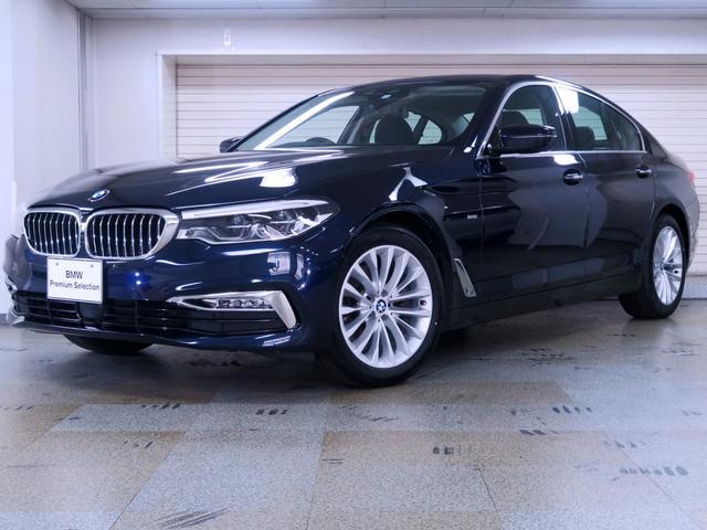 BMW 523iラグジュアリー イノベーションP 黒革