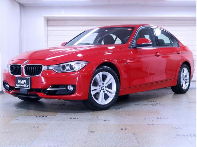 320i スポーツ 社外黒革 社外地デジ BMW認定中古車(1枚目)