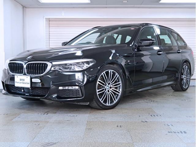 BMW 523iツーリング Mスポーツ ハイラインパッケージ 黒革 イノベーションパッケージ 電動パノラマガラスサンルーフ 19AW
