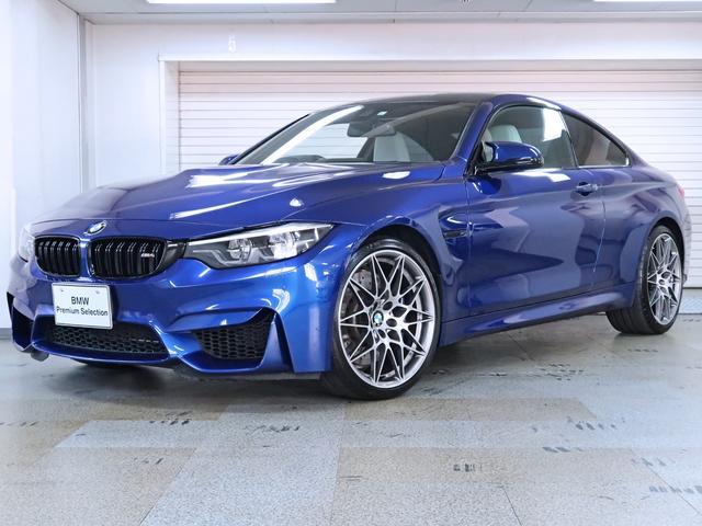 BMW M4クーペ コンペティション 白革 450ps ハーマンカードン ヘッドアップディスプレイ 20AW