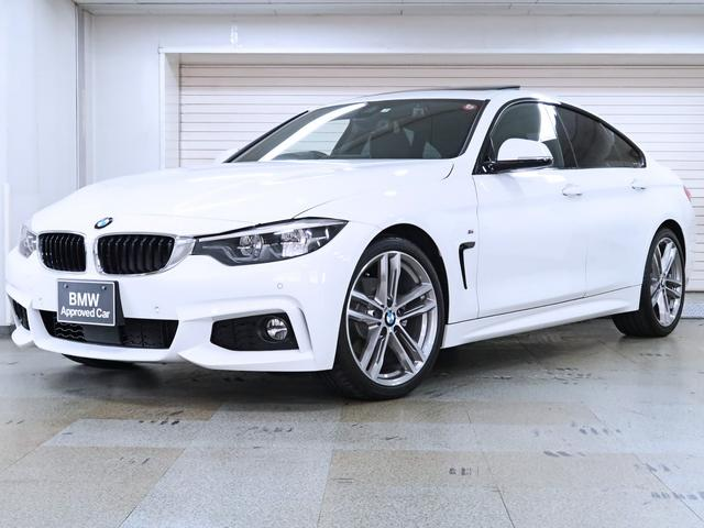 BMW 4シリーズ 420iグランクーペ Mスポーツ 後期型 電動ガラスサンルーフ BMW認定中古車 19AW