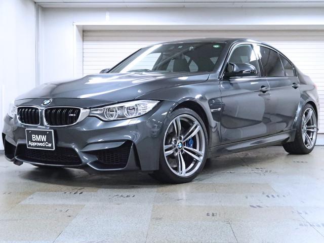 BMW M3 M3 黒革 カーボンファイバートリム BMW認定中古車1年保証 19AW