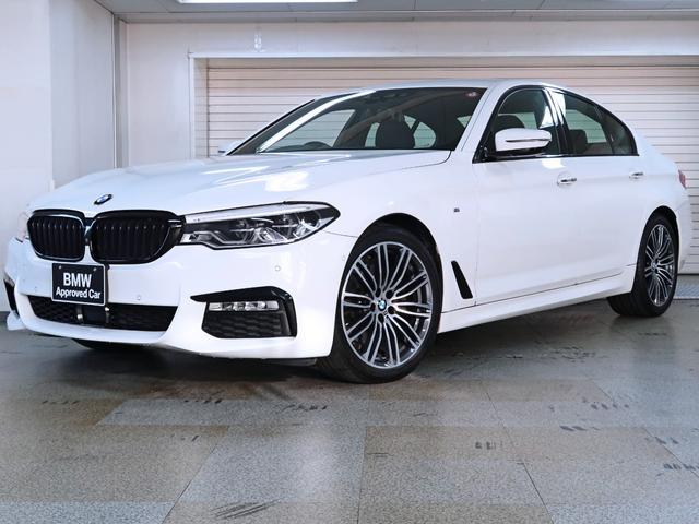 BMW 523d Mスポーツ ブラックグリル カーボンリアスポイラー BMW認定中古車1年保証 19インチAW