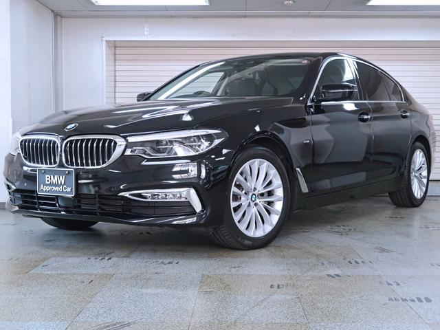 BMW 523d ラグジュアリー 黒革 ランバーサポート BMW認定中古車1年保証 18AW