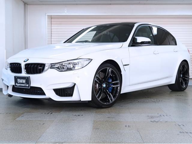 BMW M3 黒革 アダプティブMサス カーボンファイバートリム BMW認定中古車 1年保証 19AW