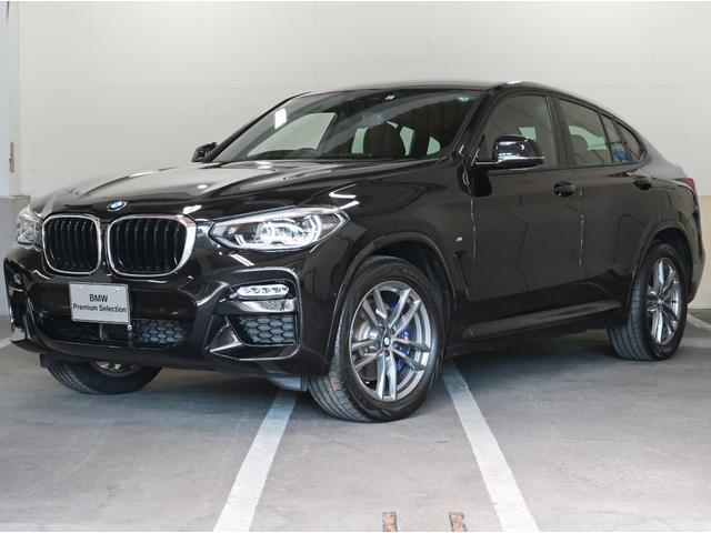 BMW X4 xDrive 30i Mスポーツ アンビエントライト リアシートバックレストアジャスト 黒革 19インチAW