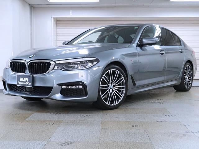 BMW 5シリーズ 523i Mスポーツ BMW認定中古車 1年保証 ハイラインパッケージ 黒革 19インチAW