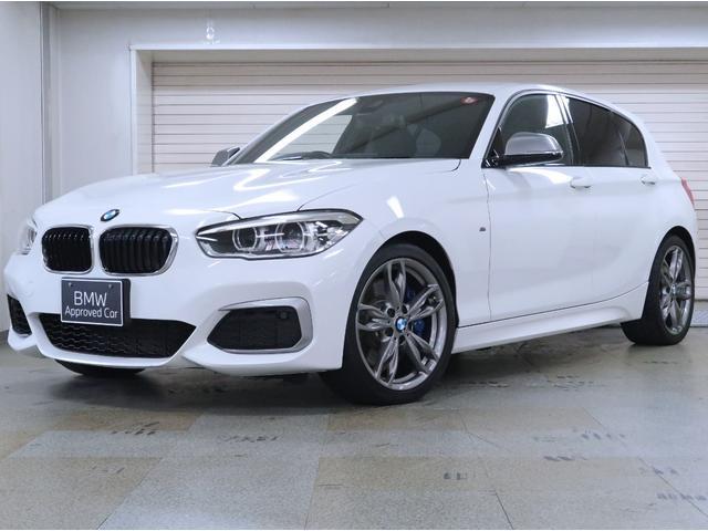 BMW M140i BMW認定中古車 1年保証 パーキングサポートパッケージ 黒革 18インチAW