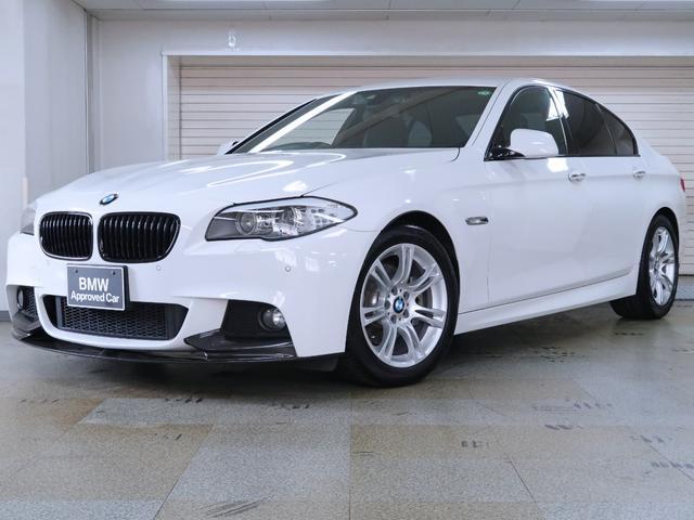 BMW 523d Mスポーツ BMW認定中古車 Mパフォーマンスカーボンエアロパーツ ブラックグリル 18インチAW