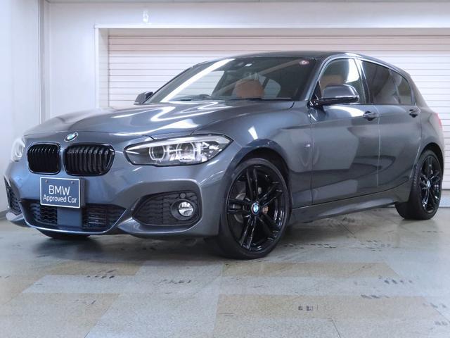 BMW 118d Mスポーツ エディションシャドー BMW認定中古車 アクティブクルーズ 茶革 18AW