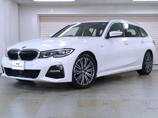 BMW 320d xDriveツーリング Mスポーツ コンフォートパッケージ パーキングアシストプラス サテンアルミルーフレール トップビュー 18AW