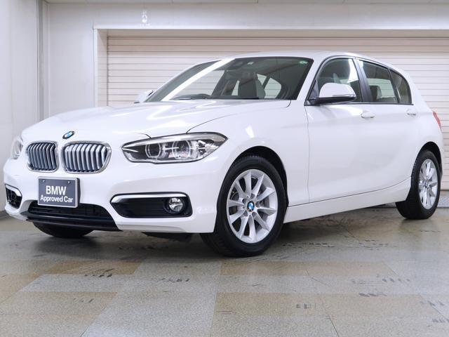 BMW 1シリーズ 118i スタイル パーキングサポートパッケージ クルーズコントロール ドライビングアシスト リヤビューカメラ リヤPDC 16AW BMW認定中古車 1年保証