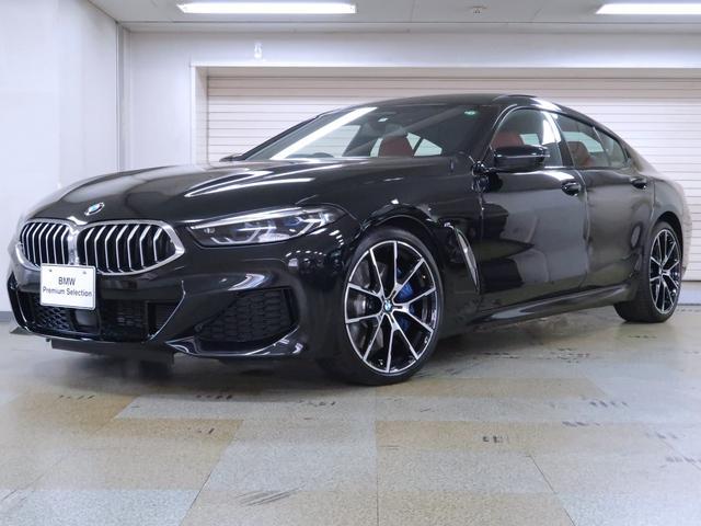 BMW 840d xDrive グランクーペ Mスポーツ 赤黒革 パノラマサンルーフ Individual エクステンドレザー フィオナレッド/ブラック クラフテッドクリスタルフィニッシュ F・Rシートヒーター Fベンチレーションシート 20AW