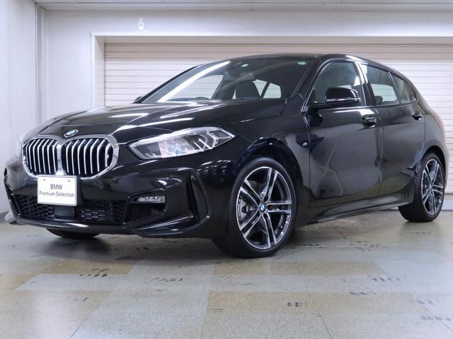BMW 1シリーズ 118i Mスポーツ ナビパッケージ ワイヤレスチャージング 運転席のみ電動シート ドライビングアシスト 18AW