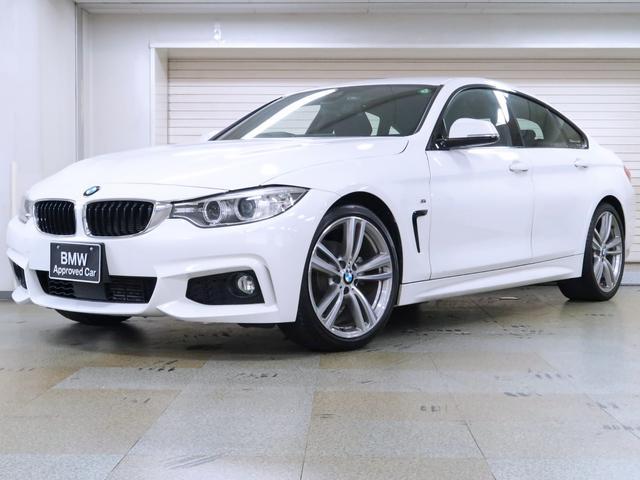 BMW 4シリーズ 420iグランクーペ Mスポーツ アクティブクルーズ 19AW リヤビューカメラ リヤPDC BMW認定中古車