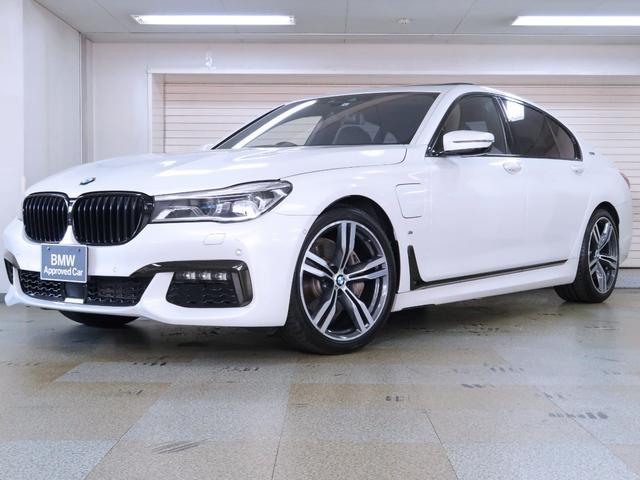 BMW 7シリーズ 740eアイパフォーマンス Mスポーツ 黒革 電動ガラスサンルーフ ヘッドアップディスプレイ Fベンチレーションシート マッサージシート 20AW