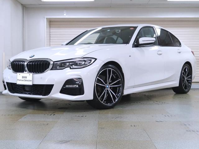 BMW 320d xDrive 黒革 デビューパッケージ サウンドP コンフォートP パーキングアシストプラス ハーマンカードン 地デジ アコースティックガラス オートトランク 認定中古車 19AW