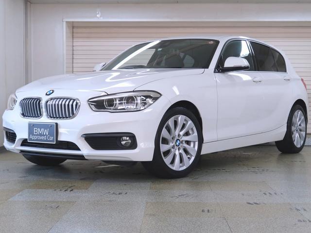 BMW 1シリーズ 118i セレブレーションエディション マイスタイル 全国400台限定 黒合皮 プラスP ドライビングアシスト バックカメラ リアPDC Fシートヒーティング クローム仕上げキドニーグリル 17AW