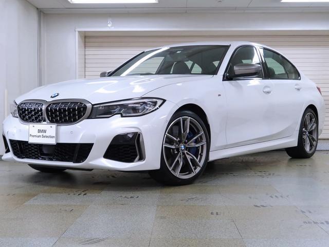 BMW M340i xDrive 黒革 オートトランク パーキングアシストプラス Mスポーツシート ジェスチャーコントロール ヘッドアップディスプレイ ワイヤレスチャージング 19AW