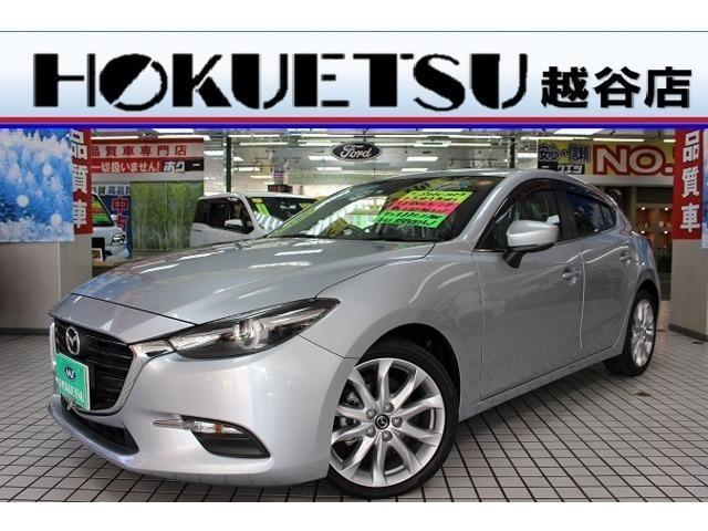 マツダ アクセラスポーツ 15S ワンオーナー・禁煙車・純正SDナビ