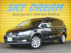 VW シャランTSI ハイライン 1オーナ HDDナビ地デジ 電動スライド