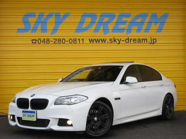 BMW 528i Mスポーツパッケージ レザーシート サンルーフ