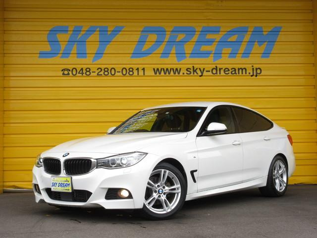 BMW 3シリーズ 320iグランツーリスモ Mスポーツ 1オーナ ACC 黒革