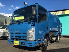 エルフトラック4.8立米巻込みパッカー車、ダンプ式排出、1.95t