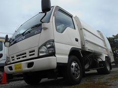 エルフトラック6立米新明和製プレスパッカー車2.35t積ディーゼル