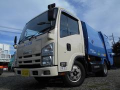 エルフトラックモリタ製4.1立米プレス式パッカー車4.57LCNG