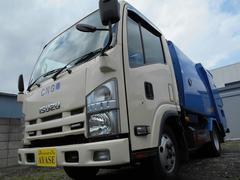 エルフトラック4.1立米モリタ製2t積プレスパッカー車4.6LCNG